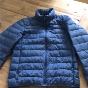 Uniclo youth boys jacket XS blue lightweight.
